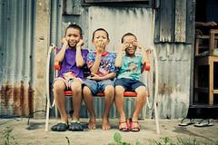 Hear No, See No, Speak No. (buffmypylon) Tags: travel thailand bangkok slum klongtoey khlongtoei thechallengefactory