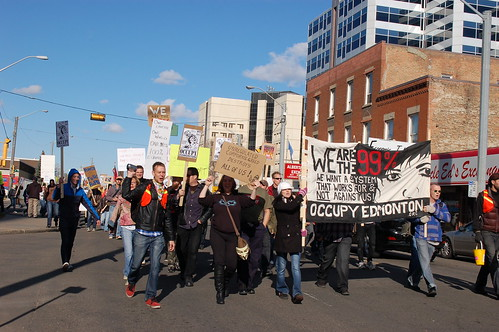 Occupy Edmonton by raise my voice