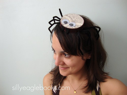 bottle cap spider hat