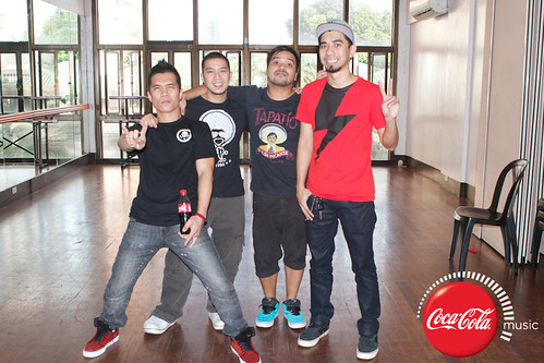 Rocksteddy and Quest at Coke Music Studio - 3