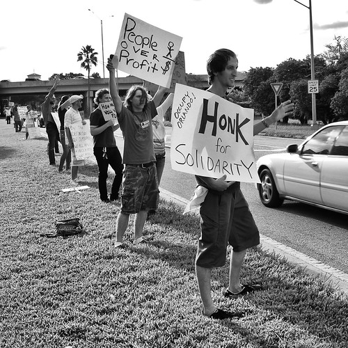 Honk for Solidarity