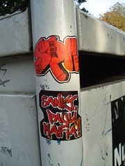 diy (malin156) Tags: streetart st diy football sticker tags nrw fc mafia pauli sankt spm fusball