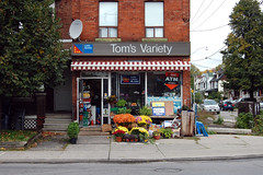 296 Wallace Ave - October 13, 2011 (collations) Tags: toronto ontario architecture documentary vernacular toms streetscapes builtenvironment cornerstores conveniencestores urbanfabric varietystores