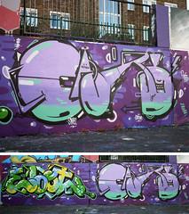 Good Time ! (FuckSabcat / HongKong) Tags: uk hk streetart london home hongkong graffiti parents paw watching son hong kong jam shs cary jams stockwell ebot sabcat