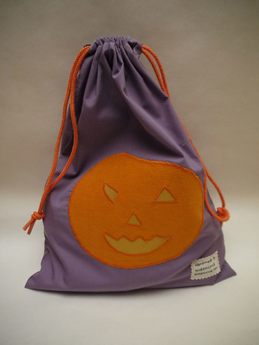 Halloween drawstring bag by mamima project