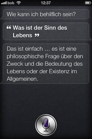 iPhone 4S, Siri