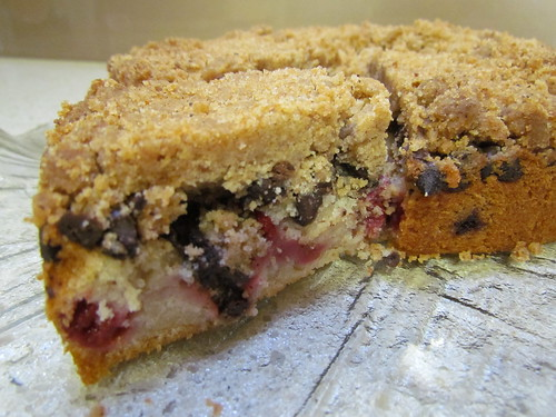 East Coast Coffee Cake - Raspberry Chocolate