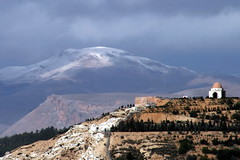 Damascus D02 (Nawar-2012) Tags: sky mountain snow mountains tree clouds mount dome syria 2008 damascus astronomical       nawar kassioun  canoneos400d flickraward  kouli   flickraward5 flickrawardgallery alsayyar