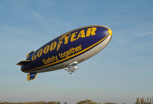 GoodYear Airship Launch by Captain Snaps'