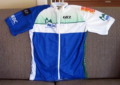 NRDC jersey, front (FK Benfield)