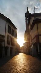 Ambiategrasso (.:CosmicGirl:.) Tags: sunset sun sol atardecer europa italia camino milano pueblo iglesia casas belleza piedras trayecto poblacion sencillez