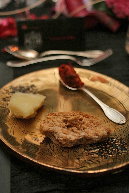 Nduja, Freselle, Guanciale, Pecorino Cheese