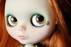 Sprocket Custom #36 ~ Handpainted Gold & Copper Eyes
