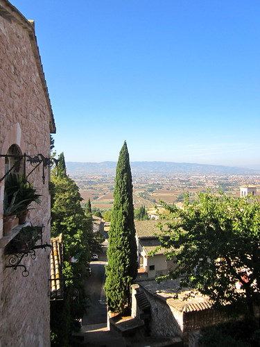 View of Assisi Landscape