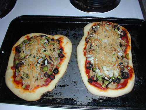 Rustic Pizzas