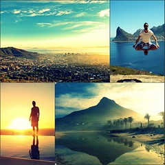 i miss cape town (whats_ur_flava2000) Tags: africa sunset love beach me sunshine sunrise diptych capetown kapstadt collague