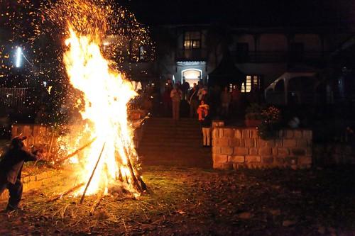 The bonfire!