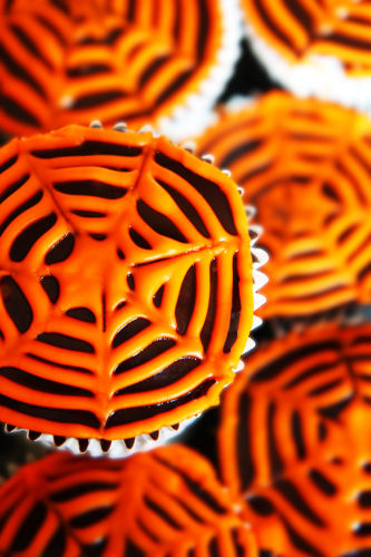 Spider web cupcakes 3300 R