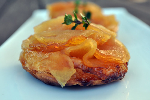 apple tarte tatin with thyme