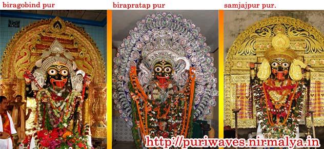 Maa Kali of  biragobind pur, birapratap pur, samjajpur pur Puri, Orissa