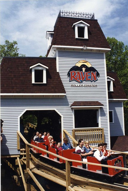 Front of Raven's first train