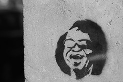 James Brown Stencil in Namur