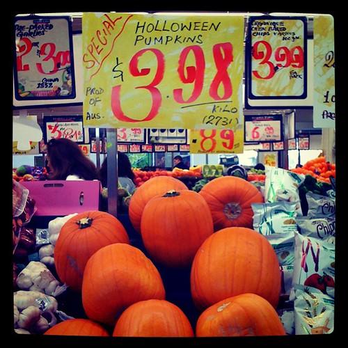 'Holloween' pumpkins