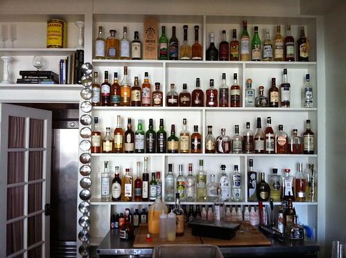 Upstairs bar at Mörso
