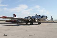 Aluminum Overcast B-17 (Rdoke) Tags: oklahoma airplanes b17 tulsa tulsaok