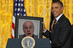Obama (Leo Reynolds) Tags: 0sec hpexif webthing photofunia xleol30x
