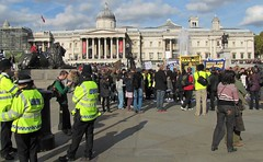 The gathering @ Trafalgar Square