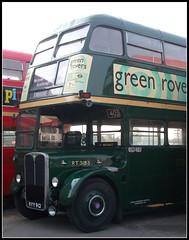 London transport RT3183    Brooklands 23/10/11. (Ledlon89) Tags: bus london museum transport cobham lt weybridge parkroyal londonbus brooklands aec lte