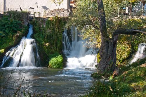 Las cascadas del río Cifuentes en Trillo
