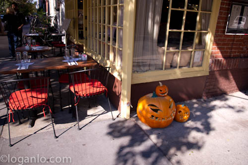Pumkins in the Village, NYC