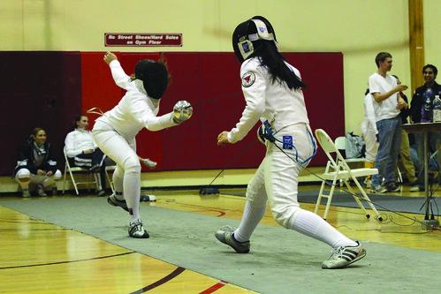 Temple's Freshman Epee Fencer Chantal Montrose