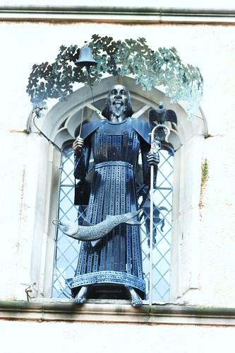 St Mungo at the Tron Steeple, Glasgow