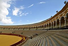 La Real Maestranza (Fotomondeo) Tags: españa sevilla spain nikon seville andalucia bullring plazadetoros d3000 larealmaestranza