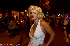 West Hollywood Halloween Carnaval Parade 2011- Marilyn Monroe (FJT Photography) Tags: california street carnival costumes party white hot west sexy men slr art halloween andy beautiful marilyn club night canon ball movie stars photography losangeles costume women october uniform looking with dress williams time cosplay pics outdoor south flash north models michelle some like it parade east dresses hollywood monroe superhero heels carnaval warhol week characters celebrities masquerade wigs block 28 otaku 31 santamonicablvd 2012 weho 2011 1755mm westhollywoodhalloween my 60d westhollywoodhalloweencarnival myweekwithmarilyn westholllywoodhalloweencarnaval2011 westhollywoodhalloweencarnaval2011