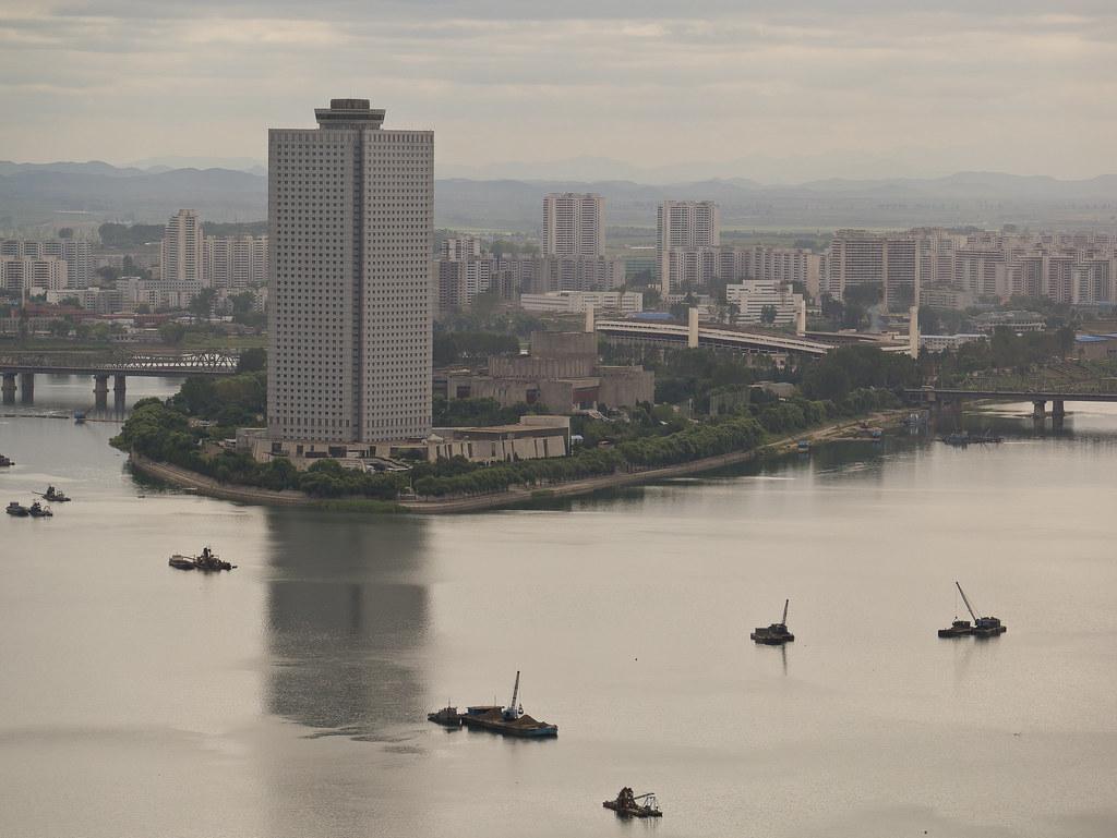 View of Yanggakdo International hotel