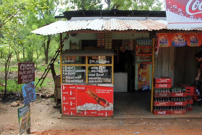 Street Restaurant in Sri Lanka