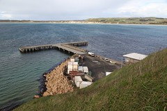 Chatham Islands New Zealand (In Memoriam Ngaire Hart) Tags: newzealand wild history canon landscape eos waves colonial vivid stormy lagoon gales pacificocean swamp windswept historical remote isolation maori tribe volcanic isolated exposed muted pacificoceanocean missionaries moriori chathamislands basalticcolumns mistysun blackrobin rekohu eriagn ïslandcommunity öldblue ngairelawson wharekauri whalersandsealers