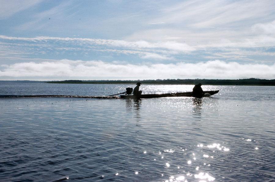 Рыбаки. Река Амазонка. Амазонка, Перу 2011 © Kartzon Dream - авторские путешествия, авторские туры в Перу, тревел видео, фототуры