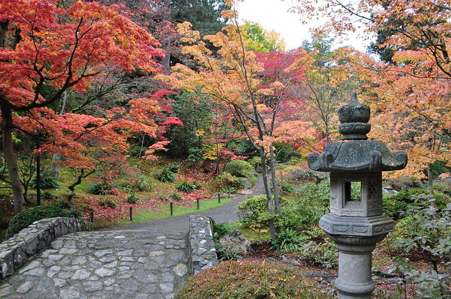 To be one of the best japanese gardens in the entire united states