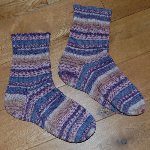 my first pair of socks!