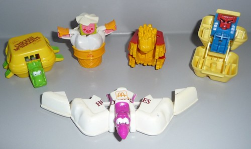 McDonald Happy Meal Toys circa mid-80s