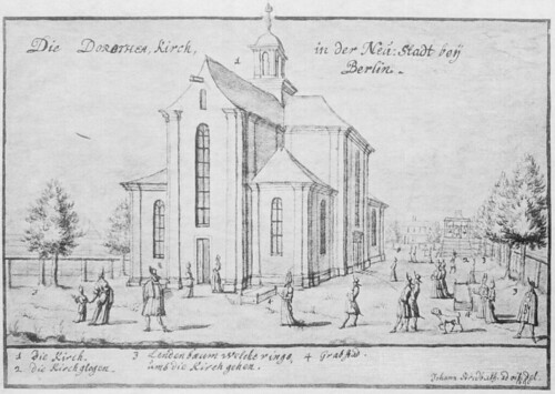 Dorotheenkirche 1690 Stridbeck
