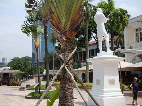 Singapore ~ Raffles Landing Site