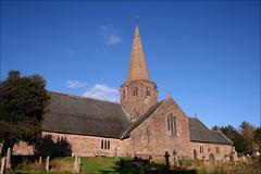St Nicholas Church: Grosmont (Canis Major) Tags: beautiful wales spire stnicholas monmouthshire grosmont janmorris