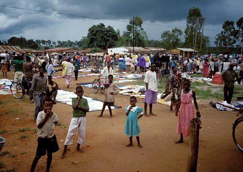 Chilwa market, Malawi. Photo by Randall Brummett, 2002