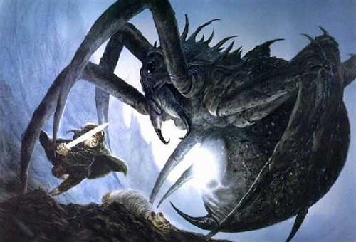 Sam et Ungoliant